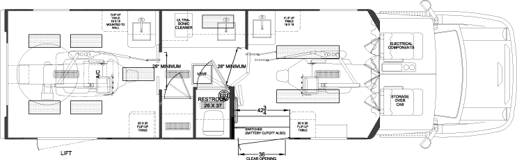 Floor Elevation Measurement : Dental access floor plans